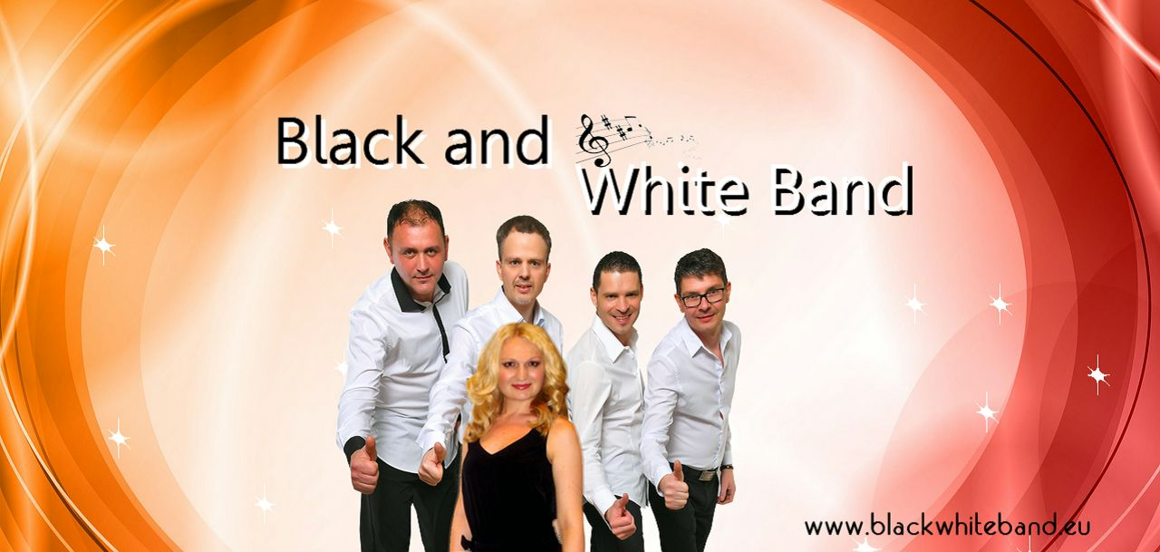 Musikgruppe Black and White